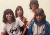 1987 29 De Agosto Felipe Machado, Andre Matos, Pit Passarell E Yves Passarell